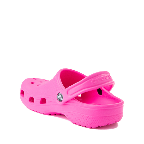 alternate view Crocs Classic Clog - Baby / Toddler / Little Kid - Electric PinkALT1