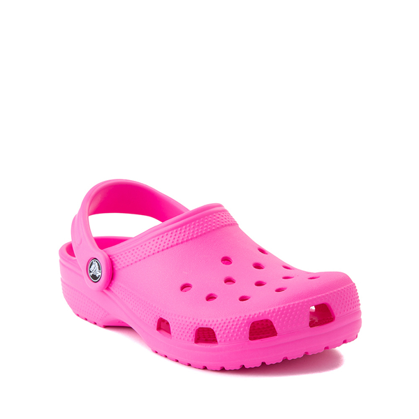 alternate view Crocs Classic Clog - Baby / Toddler / Little Kid - Electric PinkALT5