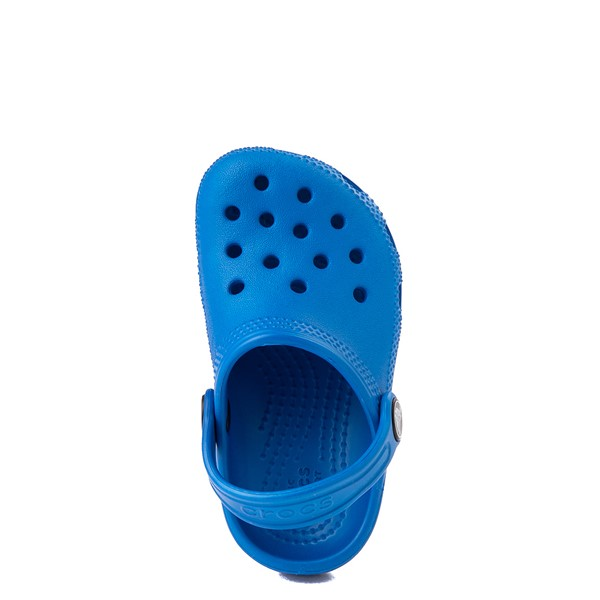 alternate view Crocs Classic Clog - Baby / Toddler / Little Kid - Bright CobaltALT4B