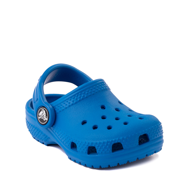 alternate view Crocs Classic Clog - Baby / Toddler / Little Kid - Bright CobaltALT5