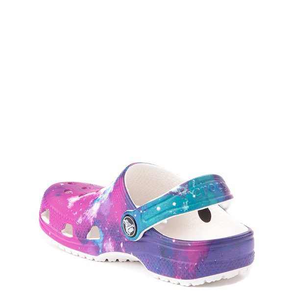 alternate view Crocs Classic Clog - Baby / Toddler / Little Kid - Galaxy / WhiteALT1