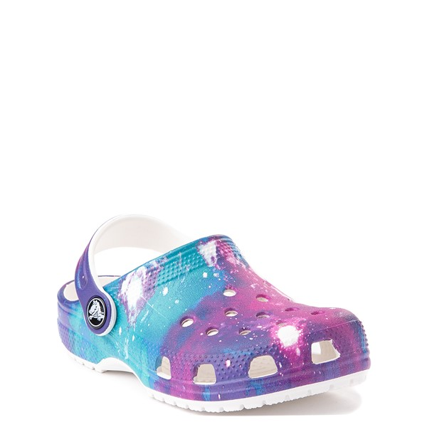 alternate view Crocs Classic Clog - Baby / Toddler / Little Kid - Galaxy / WhiteALT5