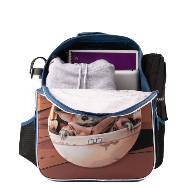 alternate view Mandalorian The Child Backpack - BlueALT1