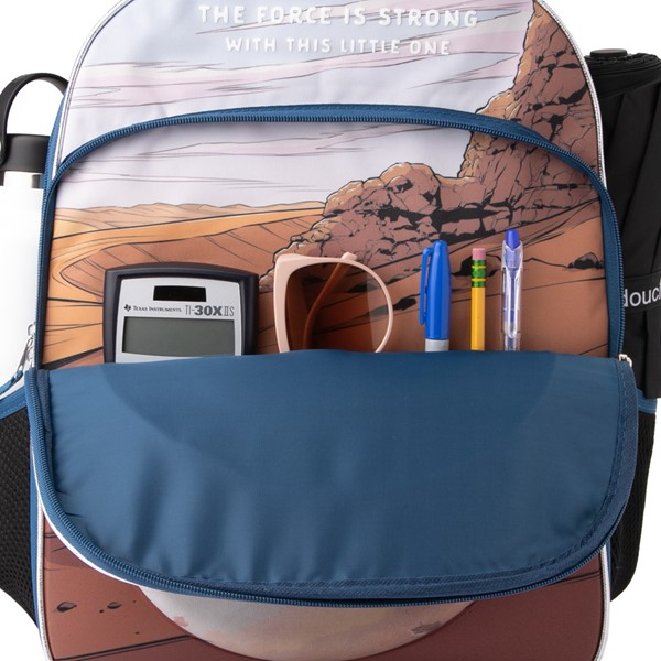 alternate view Mandalorian The Child Backpack - BlueALT3