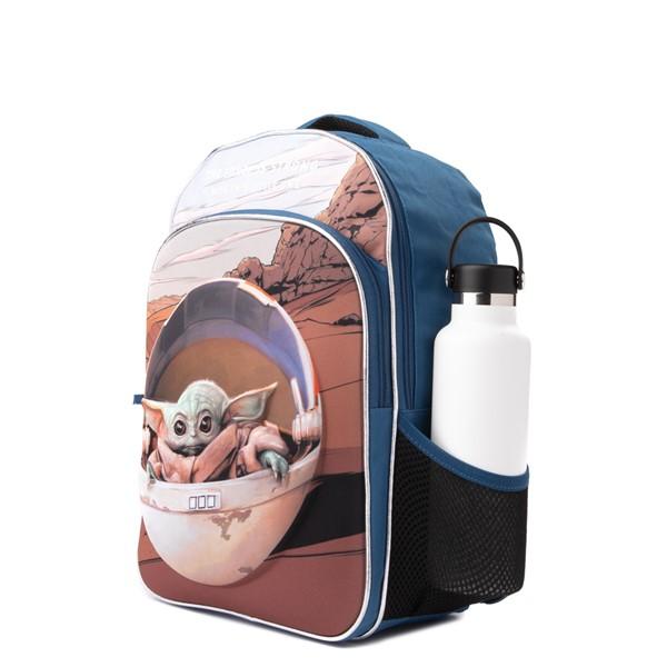 alternate view Mandalorian The Child Backpack - BlueALT4