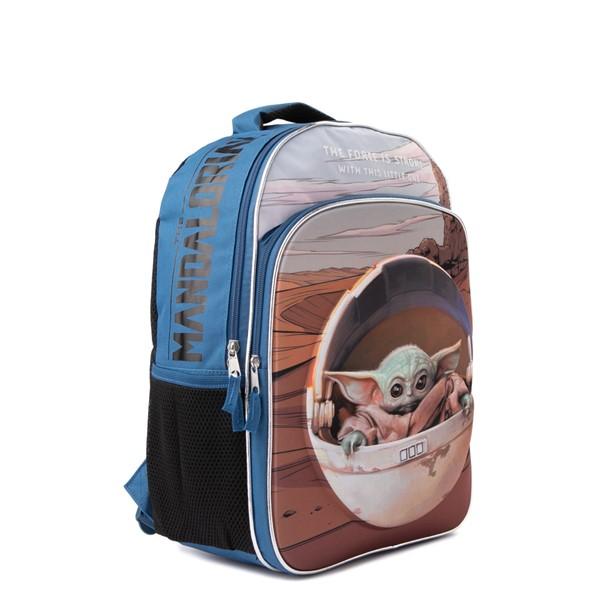 alternate view Mandalorian The Child Backpack - BlueALT4B