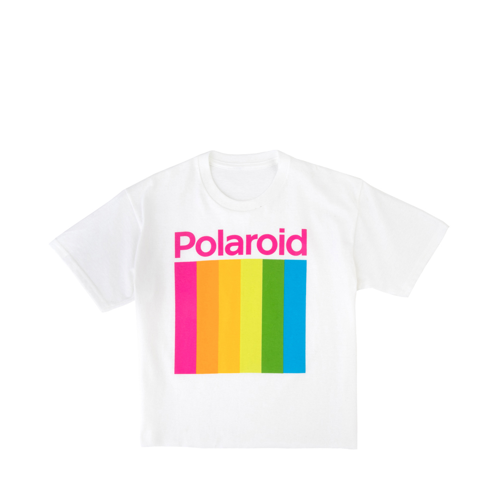 Polaroid Tee - Little Kid / Big Kid - White