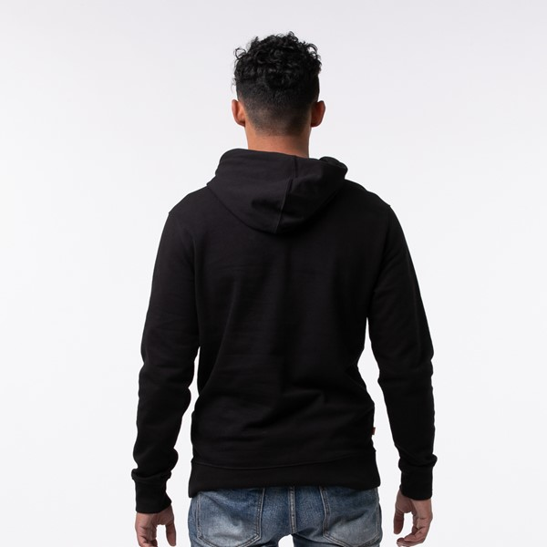 alternate view Mens Timberland Logo Hoodie - BlackALT1B