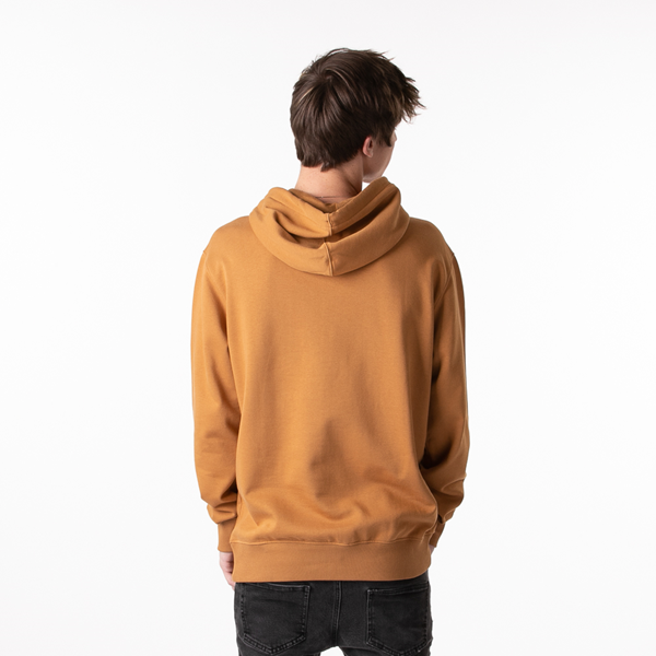 alternate view Mens Timberland Logo Hoodie - WheatALT4