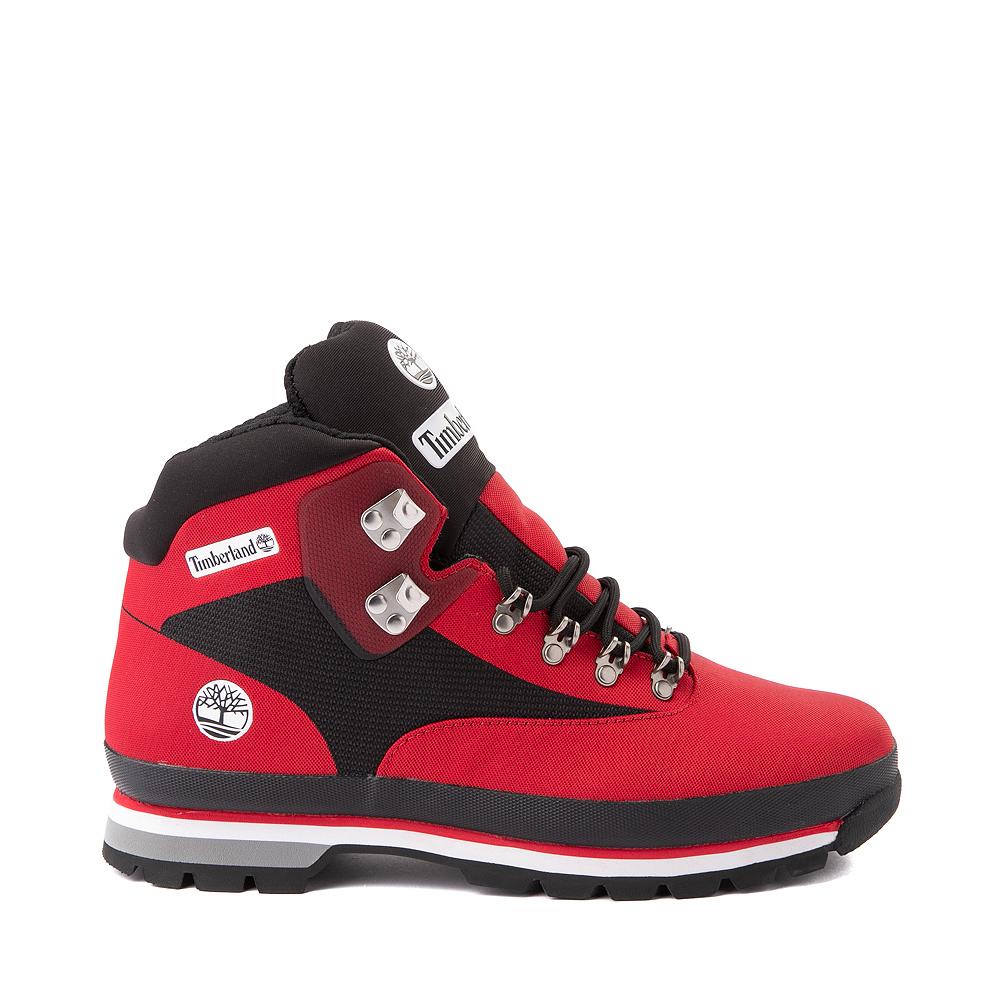 Mens Timberland Euro Hiker Jacquard Boot - Red