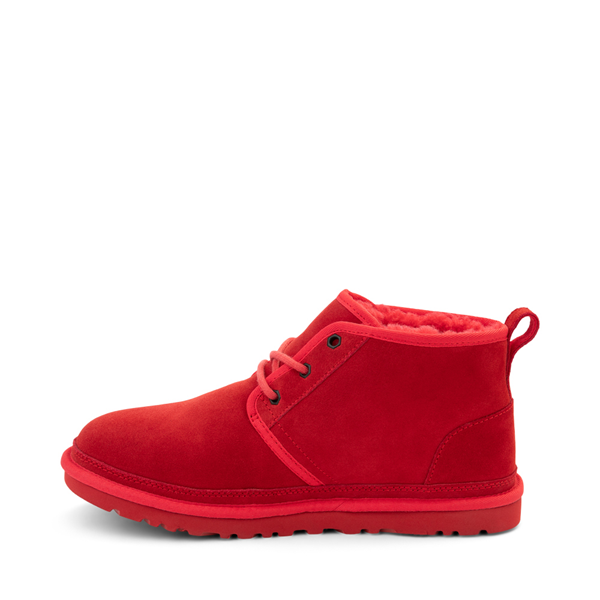 alternate view Mens UGG® Neumel Casual Shoe - Samba RedALT1
