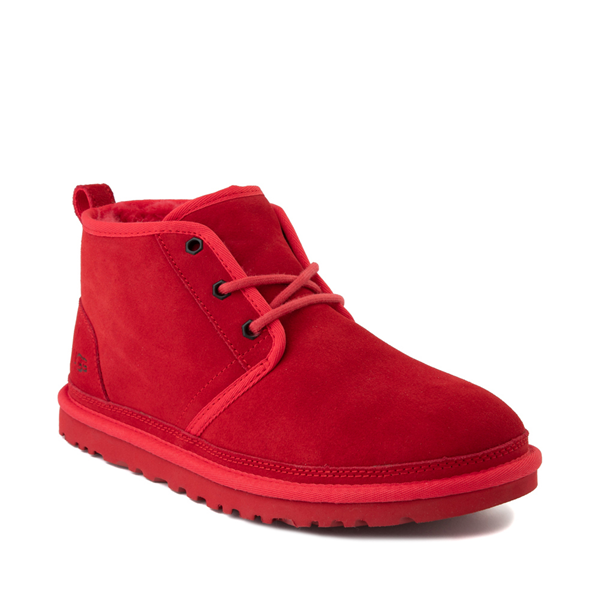 alternate view Mens UGG® Neumel Casual Shoe - Samba RedALT5