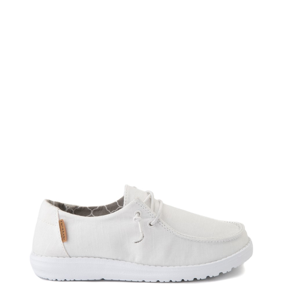 Hey Dude Wendy Slip On Casual Shoe - Little Kid / Big Kid - White