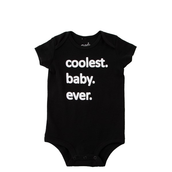 Coolest Baby Ever Snap Tee - Baby - Black