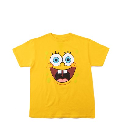 Main view of Spongebob Squarepants™ Tee - Little Kid / Big Kid - Yellow