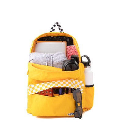 Alternate view of Vans Sporty Realm Checkered Backpack - Spectra Yellow