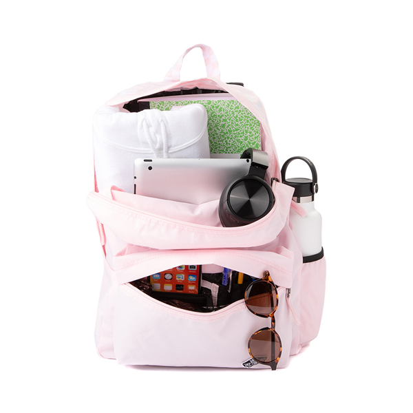 alternate view Vans Sporty Realm Checkerboard Backpack - Cool PinkALT1