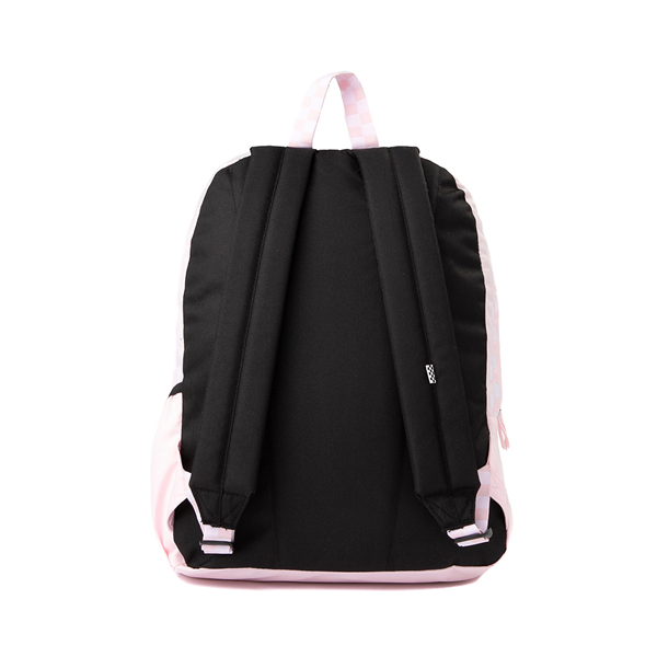 alternate view Vans Sporty Realm Checkerboard Backpack - Cool PinkALT2