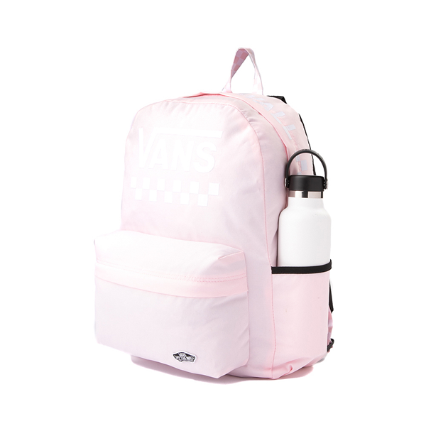 alternate view Vans Sporty Realm Checkerboard Backpack - Cool PinkALT4