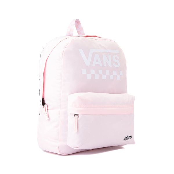 alternate view Vans Sporty Realm Checkerboard Backpack - Cool PinkALT4B