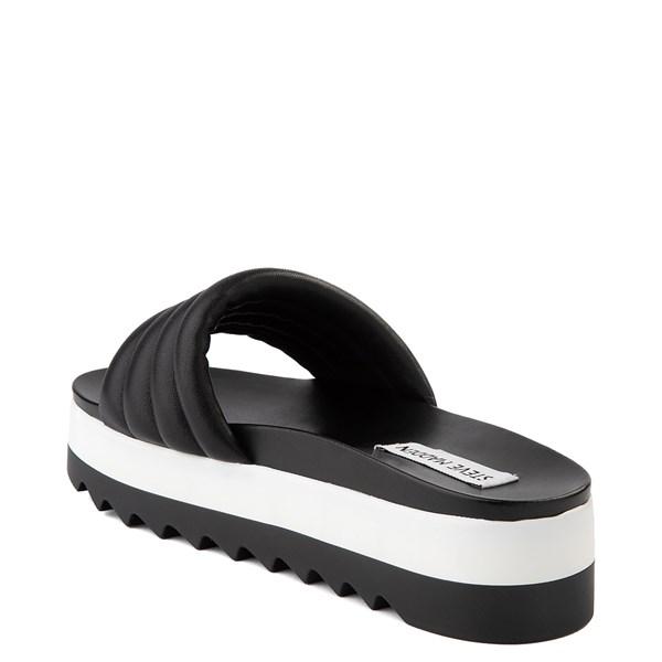 alternate view Womens Steve Madden Lazaro Platform Slide Sandal - BlackALT2
