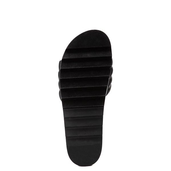 alternate view Womens Steve Madden Lazaro Platform Slide Sandal - BlackALT5