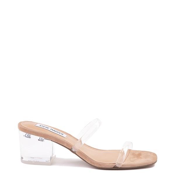 Main view of Womens Steve Madden Issy Slide Sandal - Clear