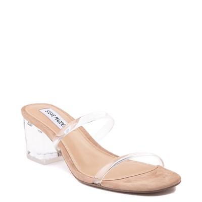 Alternate view of Womens Steve Madden Issy Slide Sandal - Clear