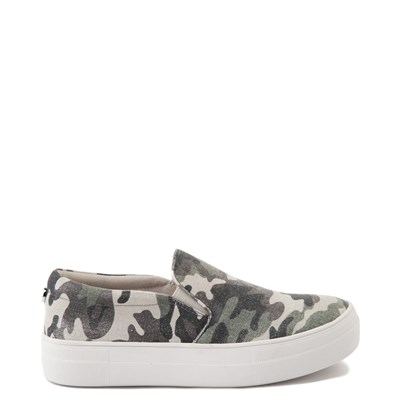 Main view of Womens Steve Madden Gills-C Slip On Platform Casual Shoe - Camo
