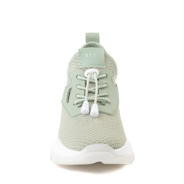 alternate view Womens Steve Madden Myles Slim Sneaker - MintALT4