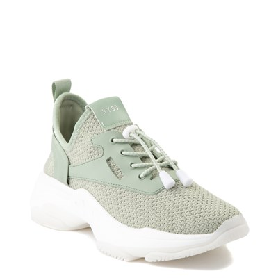 Alternate view of Womens Steve Madden Myles Slim Sneaker - Mint