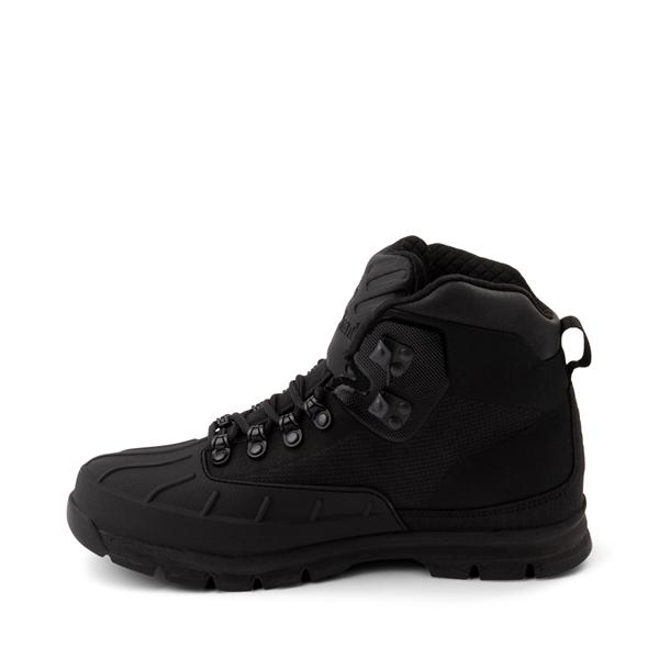 alternate view Mens Timberland Euro Hiker Shell-Toe Jacquard Boot - Black MonochromeALT1