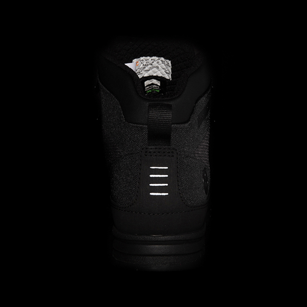 alternate view Mens Timberland Euro Hiker Shell-Toe Jacquard Boot - Black MonochromeALT4B