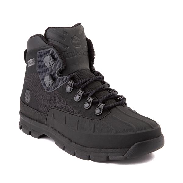 alternate view Mens Timberland Euro Hiker Shell-Toe Jacquard Boot - Black MonochromeALT5