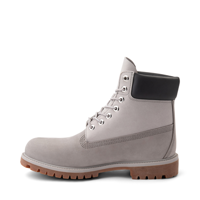 "Alternate view of Mens Timberland 6"" Classic Color-Block Boot - Gray / Light Gray"