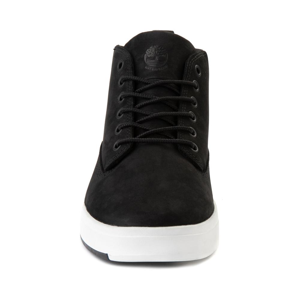 timberland davis square chukka boots in black