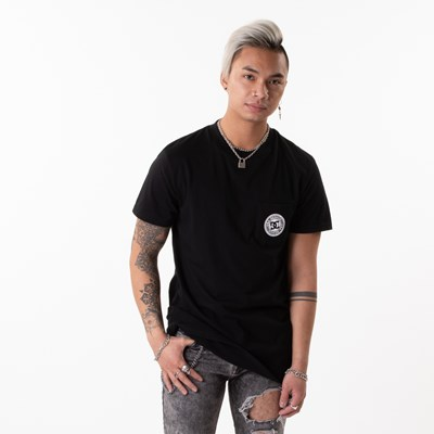 Main view of Mens DC Basic Pocket Tee - Black