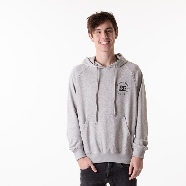 Mens DC Star Pilot Hoodie - Heather Gray