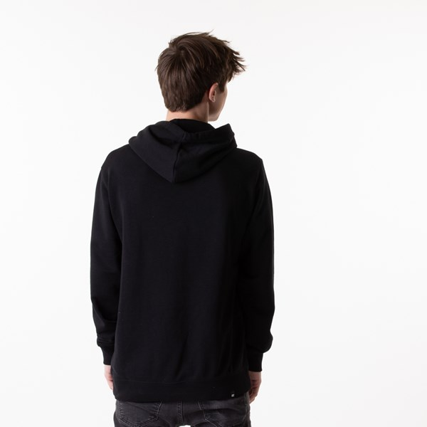 alternate view Mens DC Circle Star Hoodie - BlackALT1