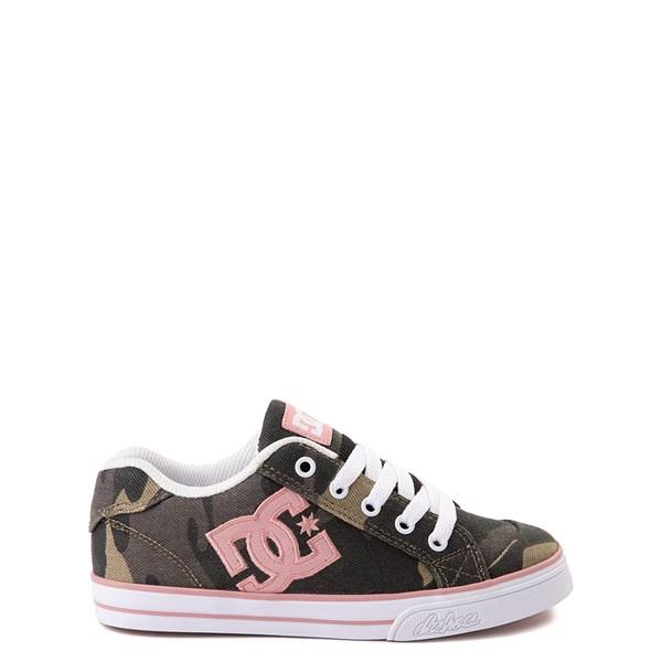 DC Chelsea TX Skate Shoe - Little Kid / Big Kid - Camo / Pink