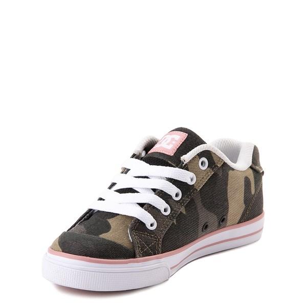 alternate view DC Chelsea TX Skate Shoe - Little Kid / Big Kid - Camo / PinkALT3