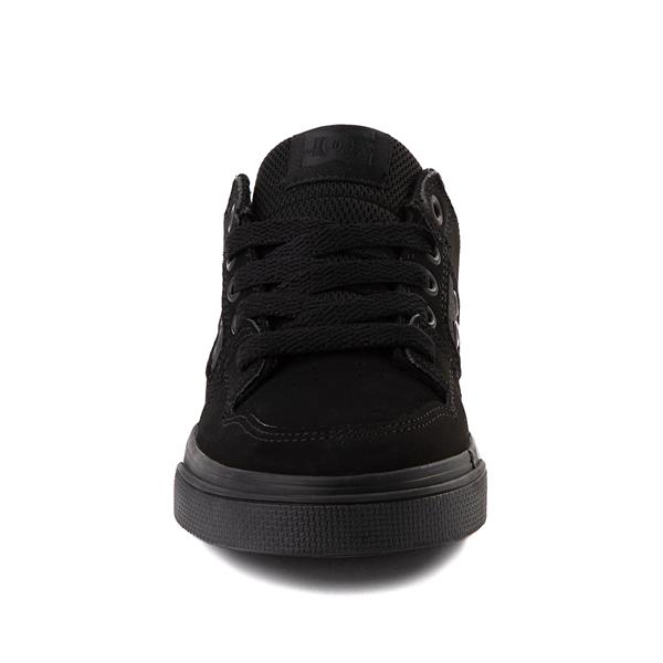 alternate view DC Pure Skate Shoe - Little Kid / Big Kid - Black / Pirate BlackALT4