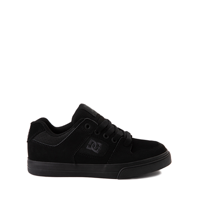 Main view of DC Pure Skate Shoe - Little Kid / Big Kid - Black / Pirate Black