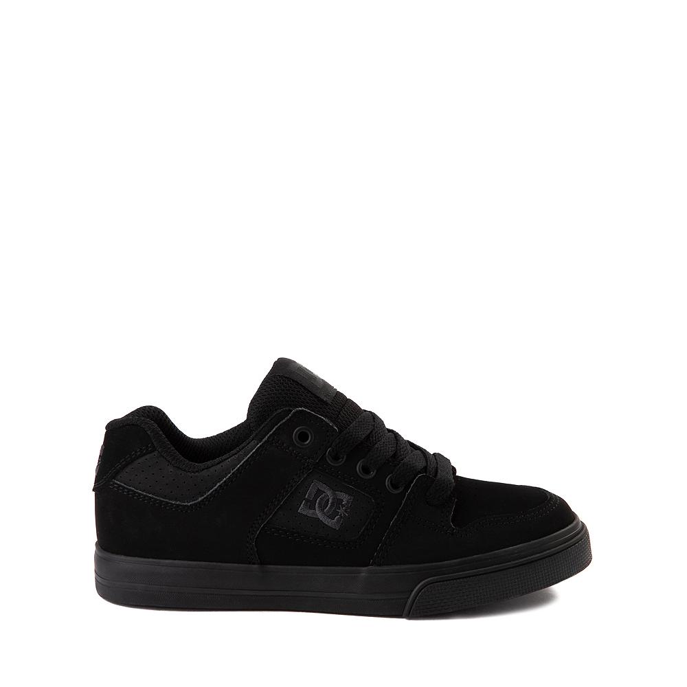DC Pure Skate Shoe - Little Kid / Big Kid - Black / Pirate Black