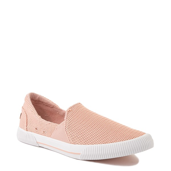 alternate view Womens Roxy Brayden Slip On Casual Shoe - Light PinkALT1