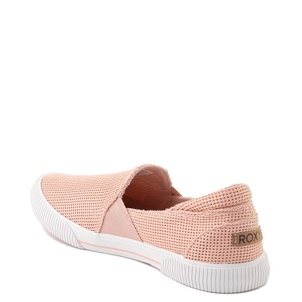 alternate view Womens Roxy Brayden Slip On Casual Shoe - Light PinkALT2