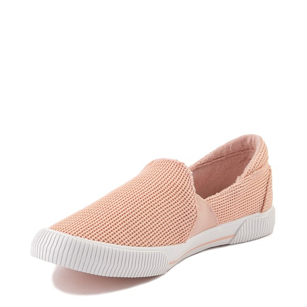 alternate view Womens Roxy Brayden Slip On Casual Shoe - Light PinkALT3