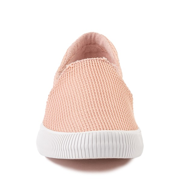 alternate view Womens Roxy Brayden Slip On Casual Shoe - Light PinkALT4