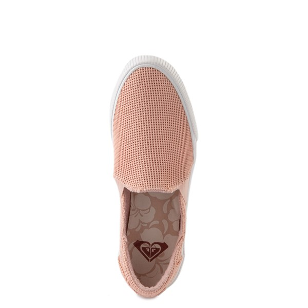 alternate view Womens Roxy Brayden Slip On Casual Shoe - Light PinkALT4B