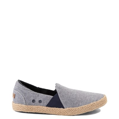 Main view of Womens Roxy Brayden Jute Slip On Casual Shoe - Nautical Blue